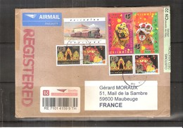 Registered Cover From Thailand To France  (to See) - Thaïlande