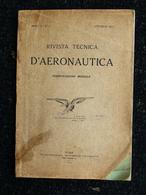 RIVISTA TECNICA D'AERONAUTICA   Aviazione Aerei - Transports
