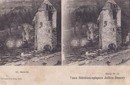 GAVARNIE VUES STEREOSCOPIQUESS JULIEN DAMOY SERIE N.11 AUTENTICA 100% - Cartoline Stereoscopiche
