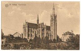 Luxembourg>1934 Arlon Cathédrale_Timbre 50c Lion Heraldique_Edit. N°20 ALBERT Et A. Dohmen, Bruxelles - CPA - Aarlen