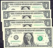 USA 1 Dollar 2017 B  - UNC P- NEW < B - New York NY > - Billets De La Federal Reserve (1928-...)