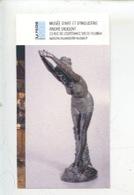 """Ticket - Edoardo Tabbacchi 1831/1905 """"La Plongeuse"""" 1895 Musée Art Et Industrie André Diligent Roubaix - Toegangskaarten"""