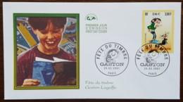 FDC 2001 - YT N°3370 - FETE DU TIMBRE / GASTON - PARIS - FDC