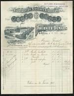 FABRIQUE DE GRANDES LIQUEURS . FOURNIER-DEMARS . SAINT-AMAND  LE : 20 NOVEMBRE 1907 . - France