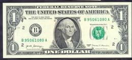 USA 1 Dollar 2017 B  - UNC # P- NEW < B - New York NY > - Billets De La Federal Reserve (1928-...)