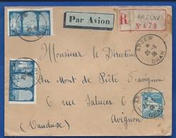 Enveloppe Affranchissement Multiple   Oblitération: Arzew 25-5-1936 Oran - Algerien (1924-1962)