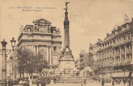 CPA - Belgique - Bruxelles - Brussels - Place De Brouckère - Places, Squares