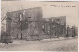 10 Mailly Le Camp Vue De La Rue De La Gare - Mailly-le-Camp