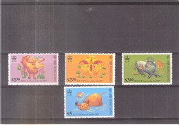 Hong-Kong - 1997 - Nouvel An Chinois - XX/MNH (à Voir) - Neufs