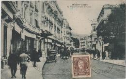 Carte Postale MONACO  LE BOULEVARD DES MOULINS - Monaco