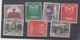 ESPAGNE  Union Postale Panamericaine 7 Timbres Neuf Et Oblitéré 1931 Cote 8 Euros - 1931-Heute: 2. Rep. - ... Juan Carlos I