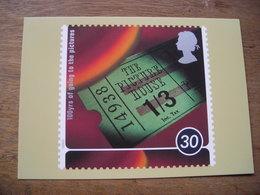 Reproduction De Timbre, Cent Ans Du Cinéma The Picture House, Billet Du Cinéma - Stamps (pictures)