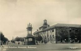 BULAWAYO, 1896 REBELLION MEMORIAL ~ AN OLD REAL PHOTO POSTCARD #82524 - Zimbabwe