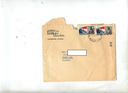 Lettre Cachet Taormina Sur Baracca - Marcophilie - EMA (Empreintes Machines)