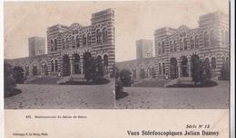 ETABLISSEMENT DU SALIES DE BEARO VUES STEREOSCOPIQUESS JULIEN DAMOY SERIE N.12 AUTENTICA 100% - Cartoline Stereoscopiche
