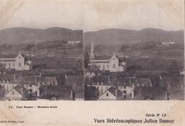 PAYS BASQUE MAULEON SOULE VUES STEREOSCOPIQUESS JULIEN DAMOY SERIE N.12 AUTENTICA 100% - Cartoline Stereoscopiche