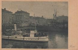FIUME-CROAZIA-CARTOLINA NON VIAGGIATA DATATA AL RETRO 27-7-1919 - Croatia