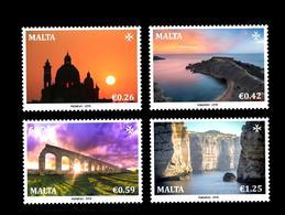Malte SEPAC Vues Spectaculaires Eglise De La Baie St. John Aqueduct Cove 2019 Dwejra - Malta