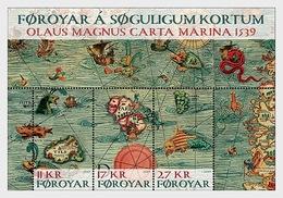 Faeroër / Faroes - Postfris / MNH - Sheet Oude Landkaarten 2019 - Faeroër
