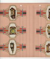 Serie  24 Stuks  -  Horloge   Groot Formaat - Bagues De Cigares