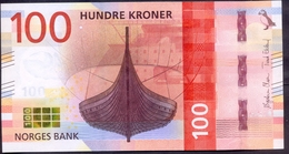 Norway 100 Kroner 2016 UNC P- 54 - Norvège