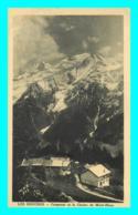 A742 / 617 74 - LES HOUCHES Coupeaux Et Chaine Du Mont Blanc - Les Houches