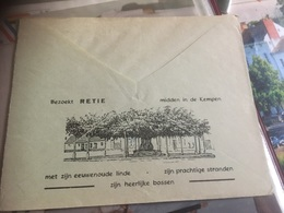 Enveloppe Retie Visiter Retie - Advertising