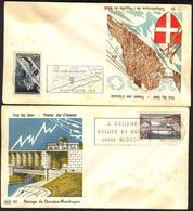 {F048} France 1956 2 FDC See Scan !! - FDC