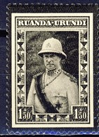 Ruanda Urundi     Nr 107    Neuf Avec Charnière - Postfris Metpakker - MH   (x) - Ruanda-Urundi