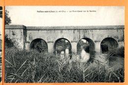 HA436, Selles-sur-Cher, Le Pont-Canal Sur La Sauldre, Circulée Sous Enveloppe - Selles Sur Cher