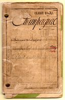 Classe 1896. Livret Militaire De Henri Champagnac, Canton De Mesvres, Près De Autun, Saône Et Loire. - Historical Documents