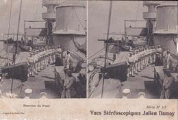 EXERCISE DU FUSIL  VUES STEREOSCOPIQUESS JULIEN DAMOY SERIE N.13 AUTENTICA 100% - Cartoline Stereoscopiche