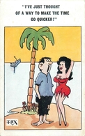 5 OLD COMIC POSTCARDS #84555 - Comics