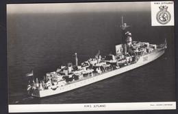RPPC Modern Real Photo Postcard HMS Jutland Royal Navy Ship Boat RP PC - Warships