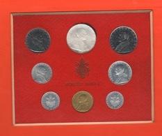 Vaticano Serie 1963 Papa Pope Paolo VI° Anno I Vatikan State Divisionale 8 Monete - Vatican