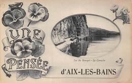 Une Pensée D' Aix Les Bains (73) - Lac Du Bourget - La Corniche - Aix Les Bains