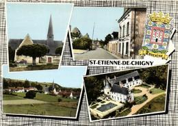 1 Cpsm Saint Etienne De Chigny - Vieux Bourg - France
