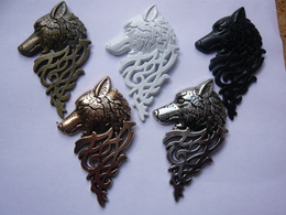 5 Big Pin S Different Relief LOUP WOLF GAMES OF THRONES 5,5 X 3,5 Cm  Neuf - Cinéma