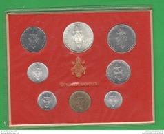 Vaticano Serie 1976 Papa Pope Paolo VI° Anno XIV Vatikan State Divisionale 8 Monete - Vatican
