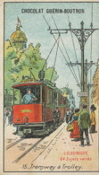Electricité   Tramway à Trolley  Tram - Tramways