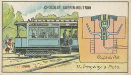 Electricité   Tramway à Plots  Tram - Tramways
