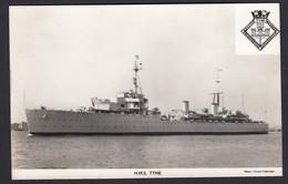 RPPC Modern Real Photo Postcard HMS Tyne Royal Navy Ship Boat RP PC - Warships