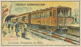 Electricité    Voiture Automotrice Du Metro - Métro