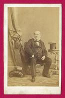 Photographie Ancienne - Studio Stortz à Liverpool - Portrait Daté De 1862 Du Sieur Thomas Hargreaves - Personnes Identifiées