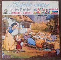 33 TOURS 25 CM ISABELLE AUBRET ** BLANCHE NEIGE - Autres - Musique Française