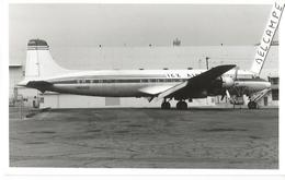 PHOTO AVION DOUGLAS DC 6 ICX AIR ??? N6320X    13X9CM - 1946-....: Era Moderna