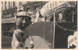 Corso : LYON - Rhone : Char Avec Pub. Verre Pyrex ( Format 13,5cm X 8,5cm ) Photo Non Glaçée - Photos
