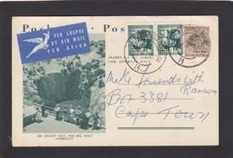 ENTIER POSTAL AVEC LA GROTTE KIMBERLEY. - Afrique Du Sud (1961-...)