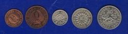 Sierra Leone 1964 Lotto 5 Monete Unc - Sierra Leone