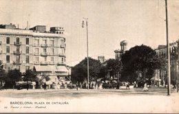 BARCELONA  PLAZA DE  CATALUNA - Guadalajara